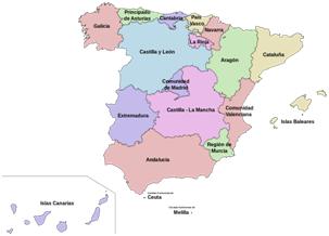 Comunidades España